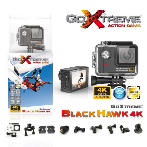 Camera-goxtreme-black-hawk-4k-ultra-hd-gris
